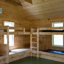 Interior of Student Cabin