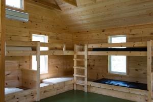 Interior of Student Cabin